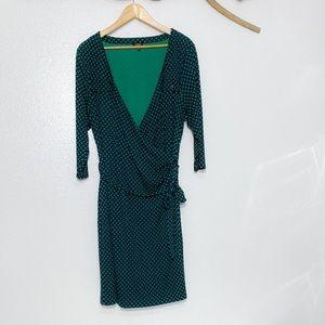 Talbots Faux Wrap Dress Sz 2XP